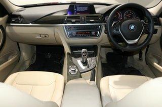 2014 BMW 320d F30 MY14 Luxury Line Black Sapphire 8 Speed Automatic Sedan