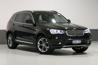 2015 BMW X3 F25 MY15 xDrive 20D Black 8 Speed Automatic Wagon.