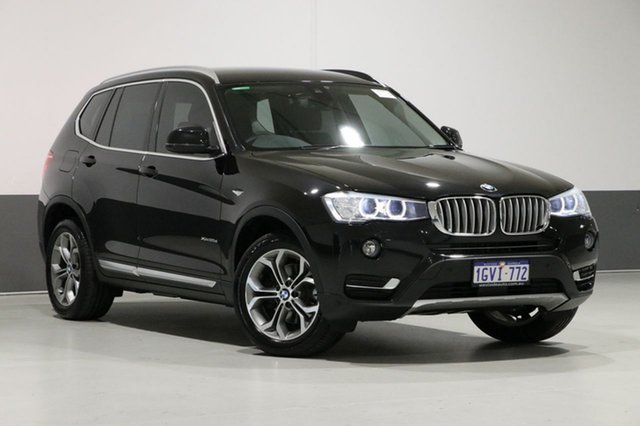 Used BMW X3 F25 MY15 xDrive 20D, 2015 BMW X3 F25 MY15 xDrive 20D Black 8 Speed Automatic Wagon