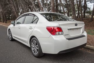 2014 Subaru Impreza G4 MY14 2.0i Lineartronic AWD Luxury White 6 Speed Constant Variable Hatchback