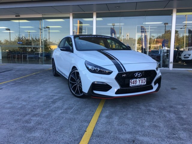 Demo Hyundai i30 PDe.3 MY19 N Fastback Performance, 2019 Hyundai i30 PDe.3 MY19 N Fastback Performance Polar White 6 Speed Manual Coupe
