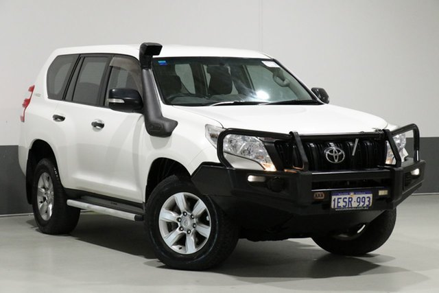 Used Toyota Landcruiser Prado KDJ150R MY14 GX (4x4), 2015 Toyota Landcruiser Prado KDJ150R MY14 GX (4x4) White 5 Speed Sequential Auto Wagon