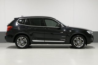 2015 BMW X3 F25 MY15 xDrive 20D Black 8 Speed Automatic Wagon