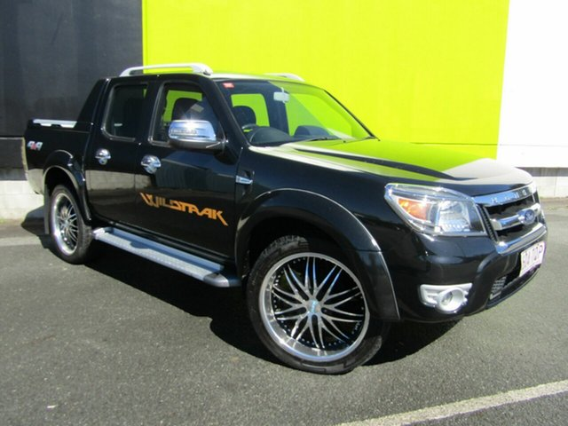 Used Ford Ranger PK Wildtrak (4x4), 2011 Ford Ranger PK Wildtrak (4x4) Black 5 Speed Automatic Dual Cab Pick-up