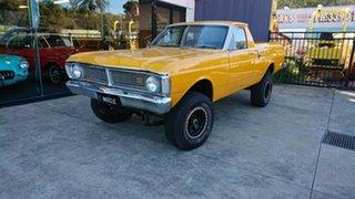 1972 Ford Falcon XY 4x4 Yellow 3 Speed Manual Utility.