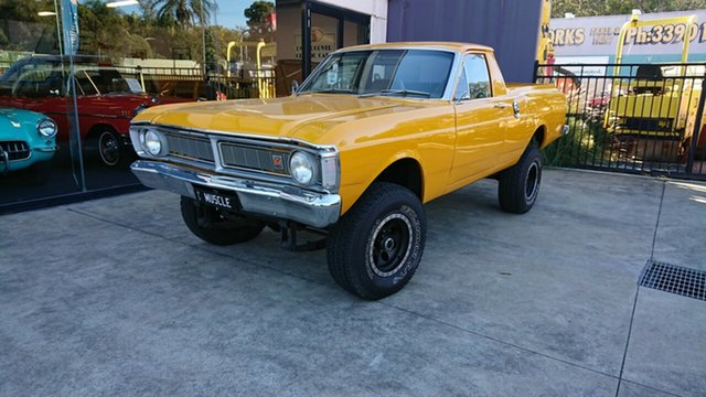 Used Ford Falcon XY 4x4, 1972 Ford Falcon XY 4x4 Yellow 3 Speed Manual Utility