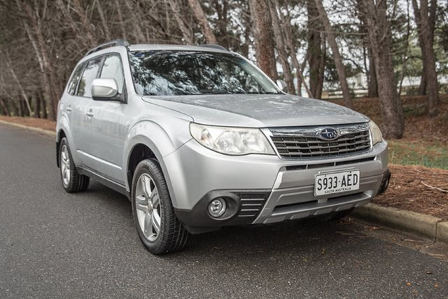 Used Subaru Forester S3 MY09 XS AWD, 2009 Subaru Forester S3 MY09 XS AWD Silver 5 Speed Manual Wagon