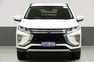 2018 Mitsubishi Eclipse Cross YA MY18 LS (2WD) White Solid Continuous Variable Wagon.
