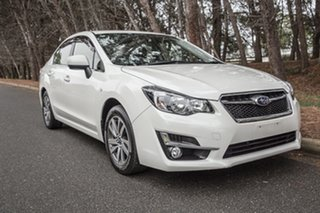 2014 Subaru Impreza G4 MY14 2.0i Lineartronic AWD Luxury White 6 Speed Constant Variable Hatchback.