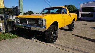 1972 Ford Falcon XY 4x4 Yellow 3 Speed Manual Utility