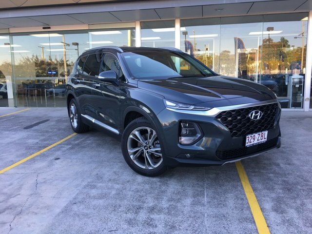 Demo Hyundai Santa Fe TM MY19 Highlander, 2019 Hyundai Santa Fe TM MY19 Highlander Rain Forest 8 Speed Sports Automatic Wagon