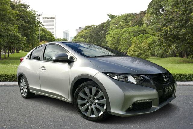 Used Honda Civic 9th Gen MY13 VTi-L, 2013 Honda Civic 9th Gen MY13 VTi-L Billet Silver 5 Speed Sports Automatic Hatchback