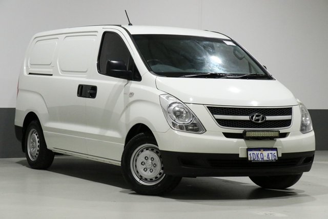 Used Hyundai iLOAD TQ , 2010 Hyundai iLOAD TQ White 5 Speed Manual Van