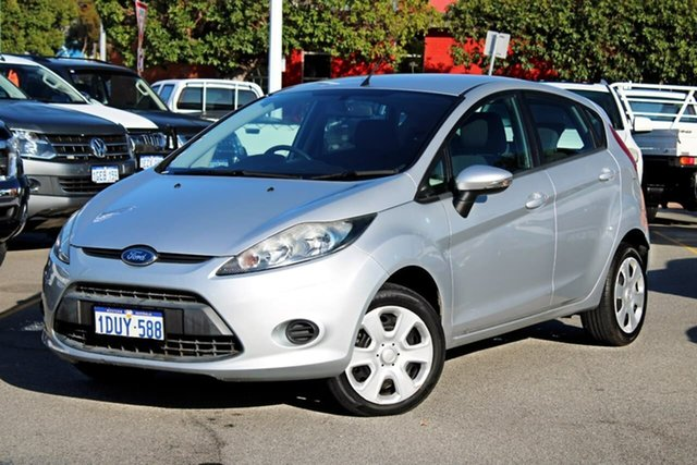 Used Ford Fiesta WT CL PwrShift, 2012 Ford Fiesta WT CL PwrShift Silver 6 Speed Sports Automatic Dual Clutch Hatchback
