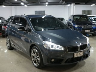 2015 BMW 2 Series F45 220i Active Tourer Steptronic Sport Line Mineral Grey 8 Speed Automatic.