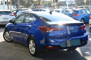 2020 Hyundai Elantra AD.2 MY20 Active Intense Blue 6 Speed Sports Automatic Sedan.
