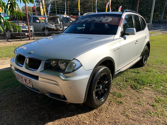 Used BMW X3 E83 MY05 Upgrade 2.5I, 2006 BMW X3 E83 MY05 Upgrade 2.5I Silver 5 Speed Auto Steptronic Wagon