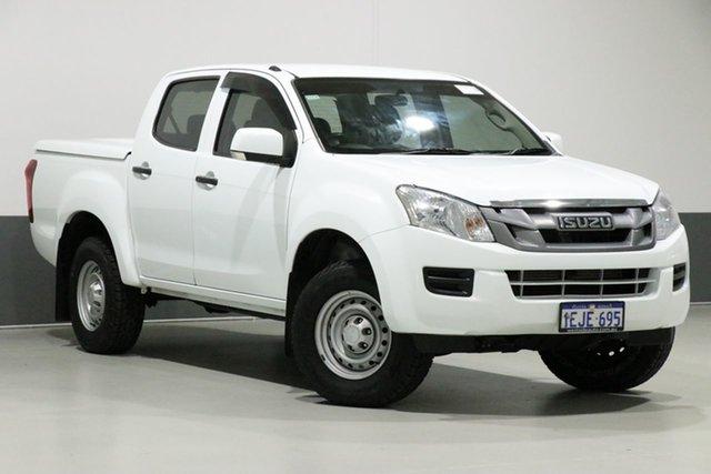 Used Isuzu D-MAX TF MY12 SX HI-Ride (4x2), 2013 Isuzu D-MAX TF MY12 SX HI-Ride (4x2) White 5 Speed Automatic Crew Cab Utility