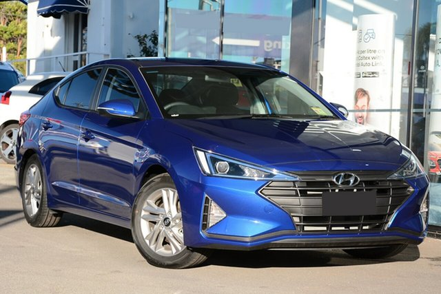 New Hyundai Elantra AD.2 MY20 Active, 2020 Hyundai Elantra AD.2 MY20 Active Intense Blue 6 Speed Automatic Sedan