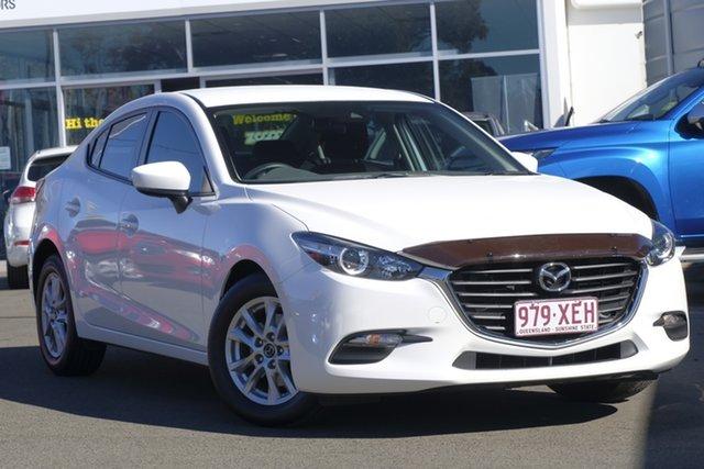 Used Mazda 3 BN5278 Neo SKYACTIV-Drive, 2017 Mazda 3 BN5278 Neo SKYACTIV-Drive White 6 Speed Sports Automatic Sedan