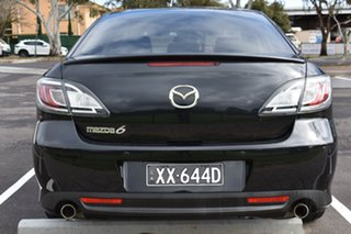 2012 Mazda 6 GH1052 MY12 Touring Black 5 Speed Sports Automatic Hatchback