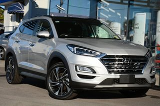 2020 Hyundai Tucson TL3 MY21 Highlander D-CT AWD Platinum Silver 7 Speed.