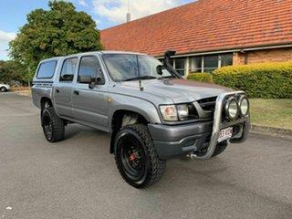 2004 Toyota Hilux KZN165R MY04 Grey 5 Speed Manual Dual Cab.