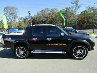 2011 Ford Ranger PK Wildtrak (4x4) Black 5 Speed Automatic Dual Cab Pick-up