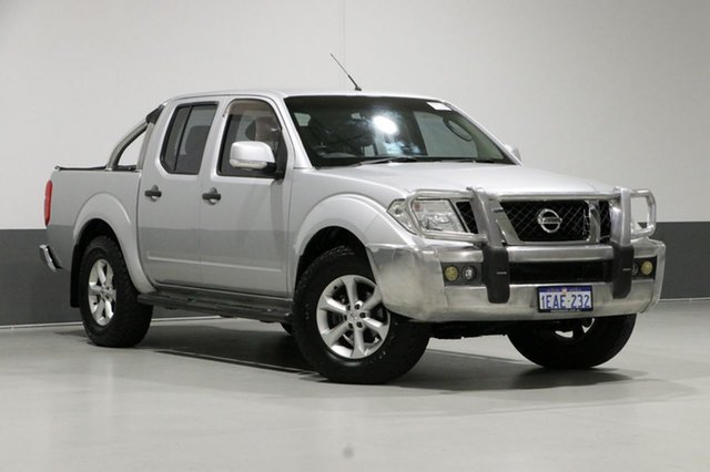 Used Nissan Navara D40 ST (4x4), 2012 Nissan Navara D40 ST (4x4) Silver 6 Speed Manual Dual Cab Pick-up