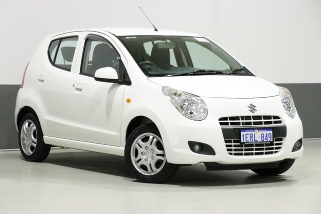 Used Suzuki Alto GF MY12 GL, 2014 Suzuki Alto GF MY12 GL White 4 Speed Automatic Hatchback