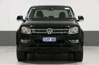 2017 Volkswagen Amarok 2H MY18 V6 TDI 550 Sportline Black 8 Speed Automatic Dual Cab Utility.