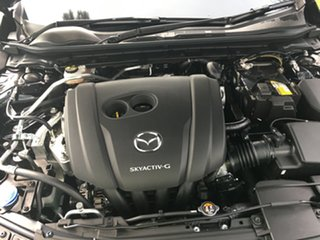 2019 Mazda 3 BP2SLA G25 SKYACTIV-Drive Evolve Jet Black 6 Speed Sports Automatic Sedan