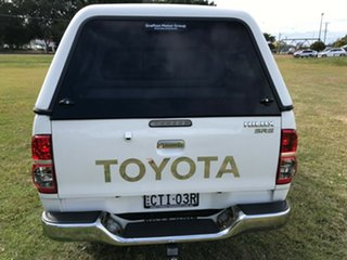 2014 Toyota Hilux KUN26R MY14 SR5 (4x4) Glacier White 5 Speed Automatic Dual Cab Pick-up