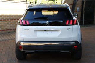 2019 Peugeot 3008 P84 MY20 GT SUV White 8 Speed Sports Automatic Hatchback