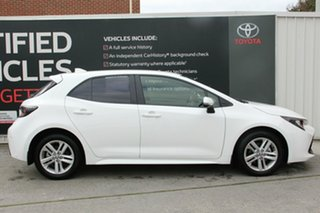 2018 Toyota Corolla Mzea12R SX Glacier White 10 Speed Constant Variable Hatchback