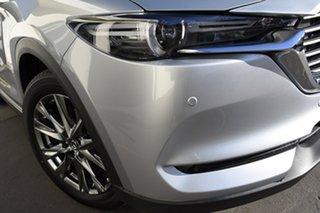 2020 Mazda CX-8 KG4W2A Asaki SKYACTIV-Drive i-ACTIV AWD Sonic Silver 6 Speed Sports Automatic Wagon.