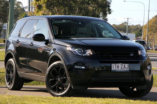 Used Land Rover Discovery Sport L550 16MY Si4 SE, 2015 Land Rover Discovery Sport L550 16MY Si4 SE Black 9 Speed Sports Automatic Wagon