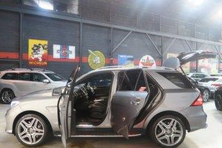 2012 Mercedes-Benz M-Class W166 Grey 7 Speed Sports Automatic Dual Clutch Wagon.