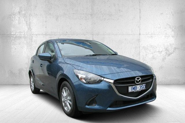 Demo Mazda 2 DJ2HAA Maxx SKYACTIV-Drive, 2019 Mazda 2 DJ2HAA Maxx SKYACTIV-Drive Blue 6 Speed Sports Automatic Hatchback