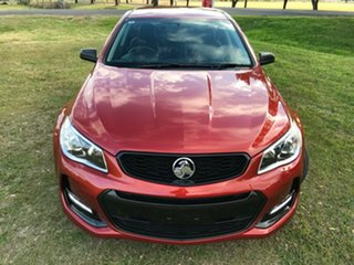 2016 Holden Commodore Vfii MY16 SV6 Black Edition Red 6 Speed Automatic Sportswagon