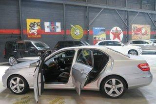 2010 Mercedes-Benz E-Class W212 Silver 5 Speed Sports Automatic Sedan.