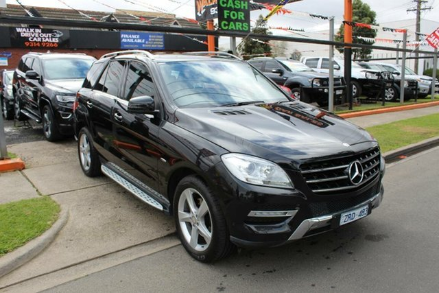 Used Mercedes-Benz ML250 CDI BlueTEC 166 4x4, 2012 Mercedes-Benz ML250 CDI BlueTEC 166 4x4 Black 7 Speed Automatic Wagon