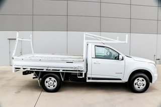 2015 Holden Colorado RG MY15 LS 4x2 Summit White 6 Speed Manual Cab Chassis