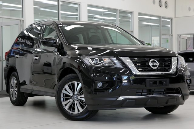 New Nissan Pathfinder R52 Series III MY19 ST-L X-tronic 2WD, 2019 Nissan Pathfinder R52 Series III MY19 ST-L X-tronic 2WD Diamond Black 1 Speed Constant Variable