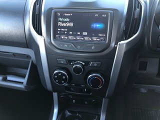 2015 Holden Colorado RG MY15 LS (4x4) White 6 Speed Manual Space Cab Chassis