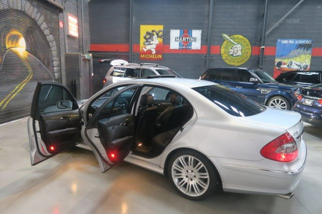 Used Mercedes-Benz E-Class W211 MY07 , 2007 Mercedes-Benz E-Class W211 MY07 Silver 7 Speed Sports Automatic Sedan