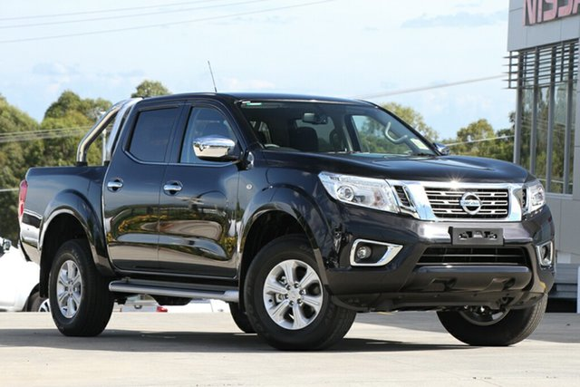 Demo Nissan Navara D23 S3 ST, 2019 Nissan Navara D23 S3 ST Cosmic Black 7 Speed Sports Automatic Utility