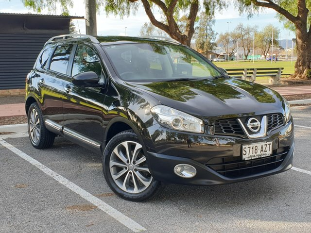 Used Nissan Dualis J107 Series 3 MY12 +2 Hatch X-tronic 2WD Ti-L, 2013 Nissan Dualis J107 Series 3 MY12 +2 Hatch X-tronic 2WD Ti-L Black 6 Speed Constant Variable