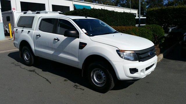Used Ford Ranger PX XL Double Cab, 2014 Ford Ranger PX XL Double Cab White 6 Speed Sports Automatic Utility