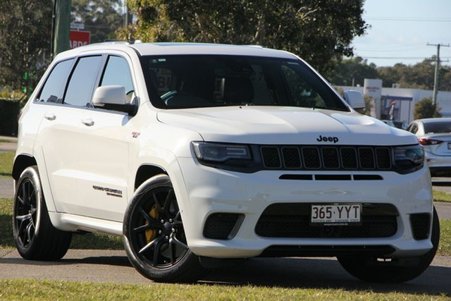 Used Jeep Grand Cherokee WK MY18 Trackhawk, 2018 Jeep Grand Cherokee WK MY18 Trackhawk White 8 Speed Sports Automatic Wagon